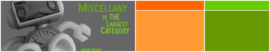 Miscellany is the Largest Category