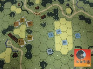 War game board: Advanced Squad Leader