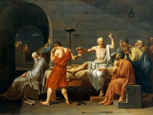 acques-Louis David 1787 Death of Socrates