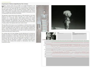 Kevin Hamilton: U Illinois, Online Video Archive & Prototype Interface for America's Nuclear Test Films